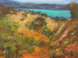 Sherie Drake Hills of Sonora New Melones Lake landscape foothills sierra gold country impressionism