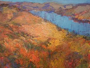 Sherie Drake New Melones Lake lanscape impressionist