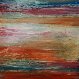 Summer on Saturn, Patti Borden, abstract art, Sonora, CA