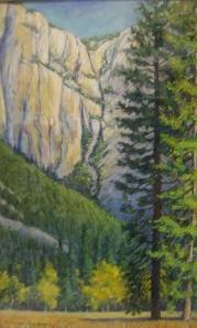 barbara beaudreau pastel yosemite landscape