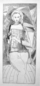 Lenore Simon, self Portrait
